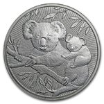 10 $ Dollar Next Generation Series Koala Mother with Baby Piedfort Australien 10 oz Silber 2018 **