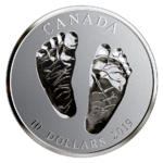 10 $ Dollar Welcome to the World Born in 2019 Kanada 1/2 oz Silber PP 2019 **