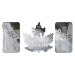 60 $ Dollar Pure Silver 3-Coin Set - Wings of Hope Kanada Silber PP 2019 **