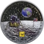20 $ Dollar 50 Years Moon Landing 50 J. Mondlandung Apollo 11 Cook Islands 3 oz Silber 2019