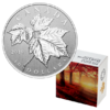 10 $ Dollar Silver Maple Leaf Kanada 1/2 oz Silber 2019 **
