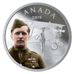 20 $ Dollar Pilot Billy Bishop Kanada 1 oz Silber PP 2019 **