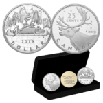 2-Coin Set Royal Canadian Mint Coin Lore - Back to Concept Kanada 2 x 2 oz Silber PP 2019 **