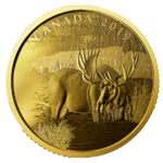 200 $ Dollar Canadian Moose - Elch Kanada 1 oz Gold PP 2019