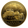 200 $ Dollar 100th Anniv. of CN Rail -  100 J. Canadian National Railway Kanada 1/2 oz Gold PP 2019
