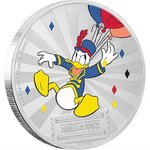 2 $ Dollar Disney Mickey Mouse & Friends Carnival - Donald Duck Niue Island 1 oz Silber 2019 **
