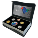 4,80 $ Dollar Proof Currency Set North Island Takahe Neuseeland Silber PP 2019 **
