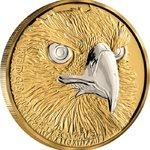 100 $ Dollar Australia Up Close - Wedge-Tailed Eagle Niue Island 1 oz Gold + Platin 2019