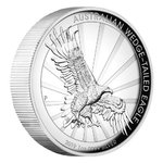 1 $ Dollar Wedge-Tailed Eagle Keilschwanzadler High Relief Australien 1 oz Silber PP 2019 **