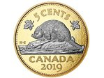 5 Cents Big Coin Series Beaver - Biber Kanada 5 oz Silber PP 2019 **