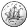 1 $ Dollar 70th Anniversary of Newfoundland Joining Canada Kanada 5 oz Silber PP 2019 **