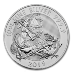10 Pfund Pounds Valiant - Tapferkeit St. George & The Dragon Grossbritannien UK 10 oz Silber 2019 **