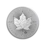 5 $ Dollar Silver Maple Leaf Incuse Kanada 1 oz Silber 2019 **