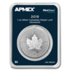 5 $ Dollar Silver Maple Leaf Incuse Apmex MintDirect® Premier Kanada 1 oz Silber 2019 **