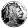 1 oz Silver Round - American Legacy Buffalo Nickel Proof High Relief - Incuse 1 oz Silber PP