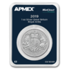 2 Pounds Silver Royal Arms Grossbritannien UK Apmex MintDirect® Premier 1 oz Silber 2019 **