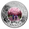 3 $ Dollar Canadian Fun and Festivities - Cherry Blossoms - Kirschblüte Kanada 1/4 oz Silber 2019 **