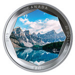 30 $ Dollar Peter McKinnon Photo Series - Moraine Lake Kanada 2 oz Silber PP 2019 **