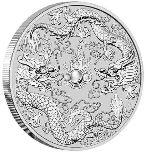 1 Dollar Double Dragon Drache Amp Drache Australien 1