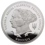 10 Pfund Pounds 200th Anniversary of the Birth Queen Victoria Grossbritannien UK 5 oz Silber PP 2019