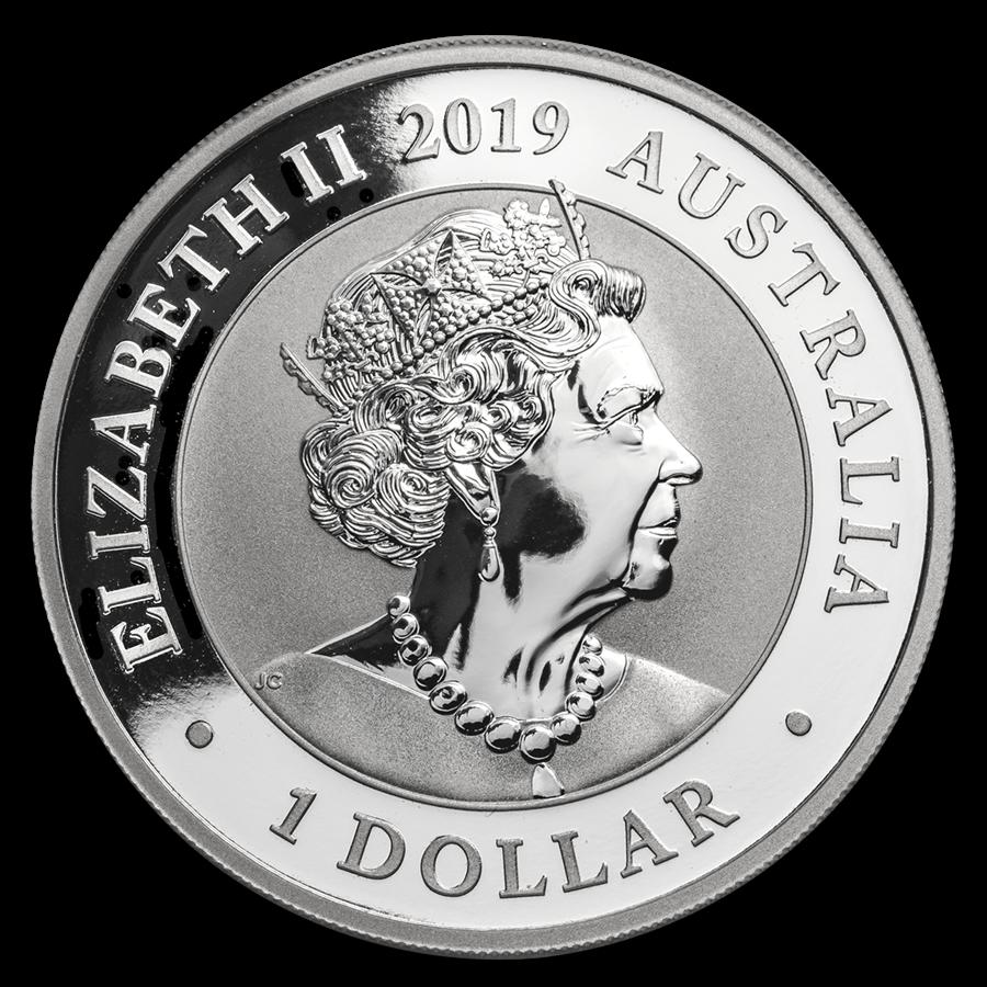 1 Dollar Silver Swan Schwan Australien 1 Oz Silber 2019