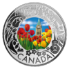 3 $ Dollar Canadian Fun and Festivities - Tulips - Tulpen Kanada 1/4 oz Silber 2019 **