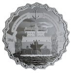 30 $ Dollar 60 Years of Prominence - The Saint Lawrence Seaway Kanada 2 oz Silber PP 2019 **