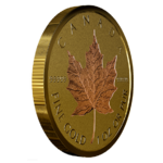 200 $ Dollar 40th Anniversary - 40 Jahre Gold Maple Leaf Kanada 1 oz Gold PP 2019