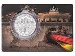 5 $ Dollar 30 Years Fall of Berlin Wall - 30 Jahre Fall der Mauer Solomon Islands 1 oz Silber 2019
