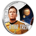 1 $ Dollar Star Trek Enterprise - Captain James T. Kirk Tuvalu 1 oz Silber PP 2019 **