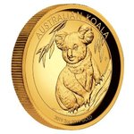 200 $ Dollar Koala High Relief Australien  2 oz Gold PP 2019
