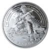 20 $ Dollar Second World War Battlefront - The Normandy Campaign Kanada 1 oz Silber PP 2019 **