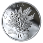 20 $ Dollar The Beloved Maple Leaf Kanada 1 oz Silber 2019 **