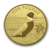 5 Pfund Pounds Puffin - Papageientaucher Alderney 1 oz Gold 2019