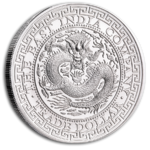 1 Pound Pfund Silver Chinese Trade Dollar Dragon St. Helena 1 oz Silber 2019 **