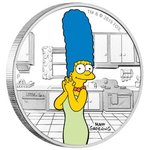 1 Dollar The Simpsons - Marge Simpson Tuvalu 1 oz Silber PP 2019 **