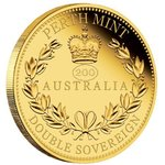 "50 $ Dollar Australian Double Sovereign Privy Mark ""200"" Australien Gold PP 2019"