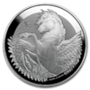 5 $ Dollar Pegasus British Virgin Islands 5 oz Silber 2019 Frosted BU **