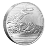 10 $ Dollar Next Generation Series Crocodile with Baby Piedfort Australien 10 oz Silber 2019 **