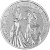 5 Mark The Allegories Britannia & Germania 1 oz Silber BU 2019