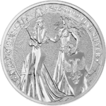 10 Mark The Allegories Britannia & Germania 2 oz Silber BU 2019