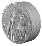 25 Mark The Allegories Britannia & Germania 5 oz Silber BU 2019