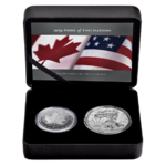 Pride of Two Nations Limited Edition Maple + Eagle Set Kanada / USA 2 x 1 oz Silber Proof 2019