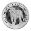1 Pound Pfund Cash India Wildlife - The Bengal Tiger St. Helena 1 oz Silber 2019 **