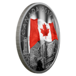 30 $ Dollar The Fabric of Canada Kanada 2 oz Silber PP 2019 **