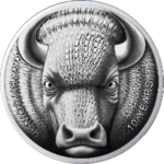 0,001 BTC Sol Noctis Binary Bull - 10th Anniverary of Bitcoin 1 oz Silber PP 2019