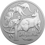 1 $ Dollar Mob of Roos - Kangaroo - Privy Willis Tower Chicago ANA Australien 1 oz Silber 2019 **