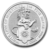 5 Pfund Pounds The Queen's Beasts The White Lion Grossbritannien UK 2 oz Silber 2020 **