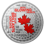 10 $ Dollar 50th Anniversary of the Official Languages Act Kanada Silber PP 2019 **