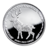 500 Francs Celtic Animals - Irish Red Deer - Rothirsch Tschad Chad 1 oz Silber 2019 **